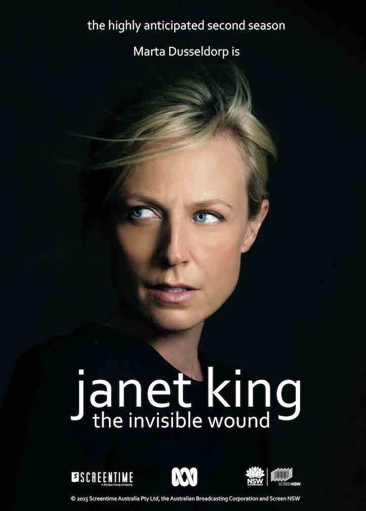 Janet King - The Invisible Wound